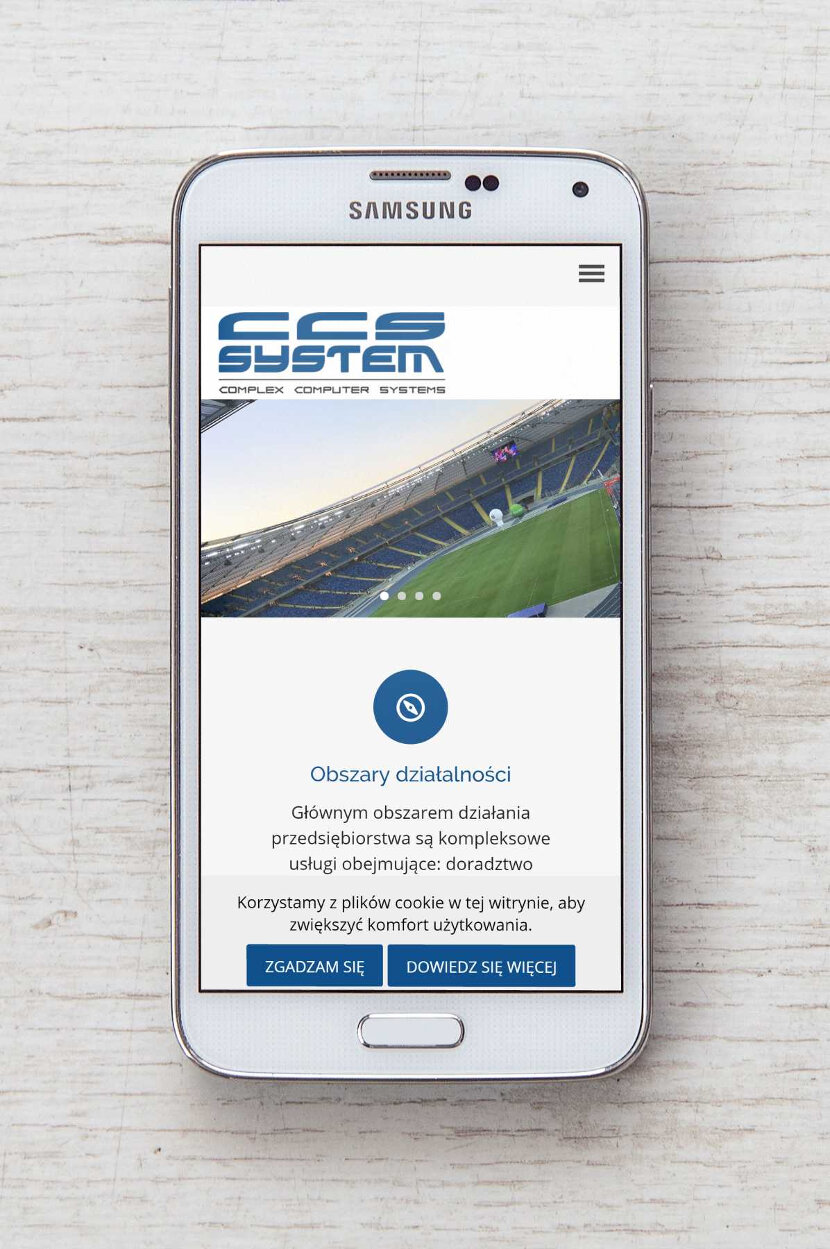 CSSSystem - Wygląd strony na urządzeniach mobilnych