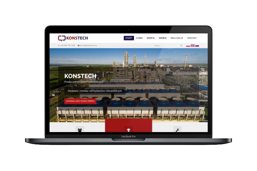 Konstech - Wygląd na urządzeniach stacjonarnych