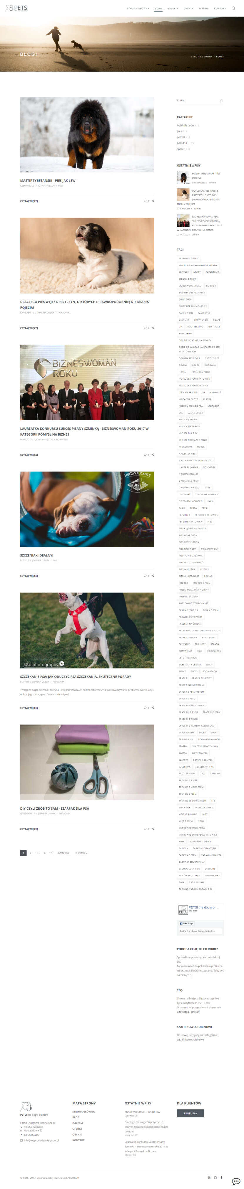 Petsi - blog